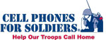Cell Phones for Soldiers logo
